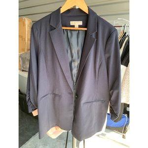 Navy blue MK blazer